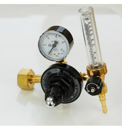 Регулятор для аргона и углекислого газа KRASS У 30/АР 40 КР Р с ротаметром