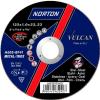 Круг отрезной 125х1.0x22.2 мм для металла Vulcan NORTON