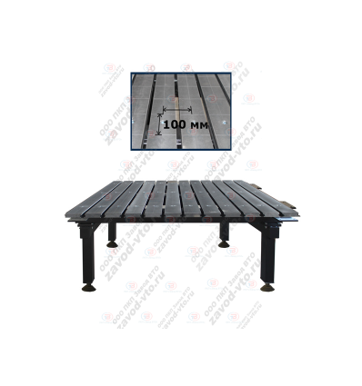 Cварочно-сборочный стол с координатной сеткой ССМ-01-07