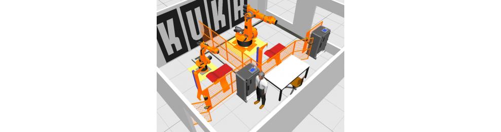 Типовые задачи применения роботов KUKA
